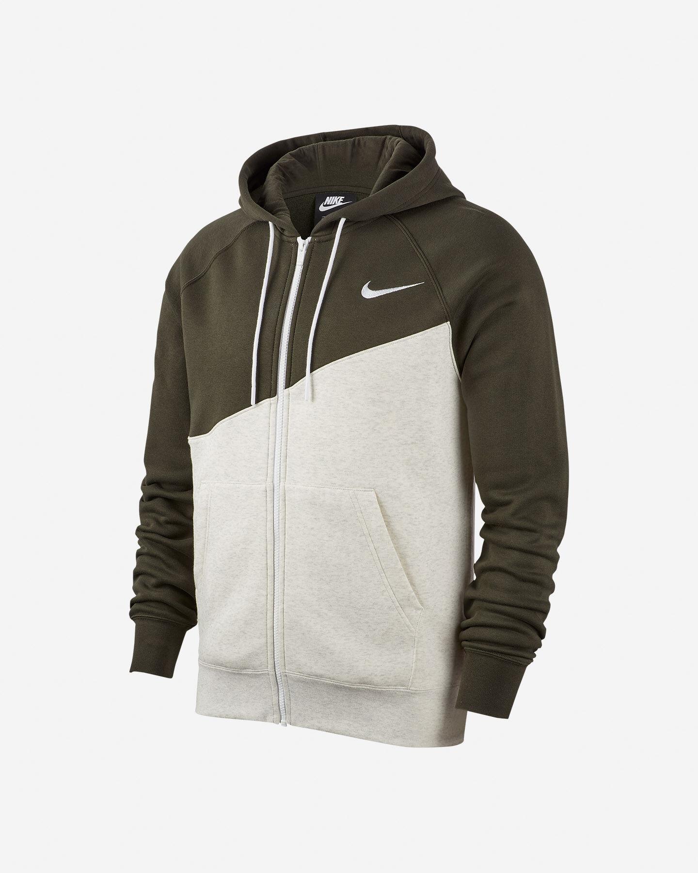 felpa nike sportswear uomo swoosh