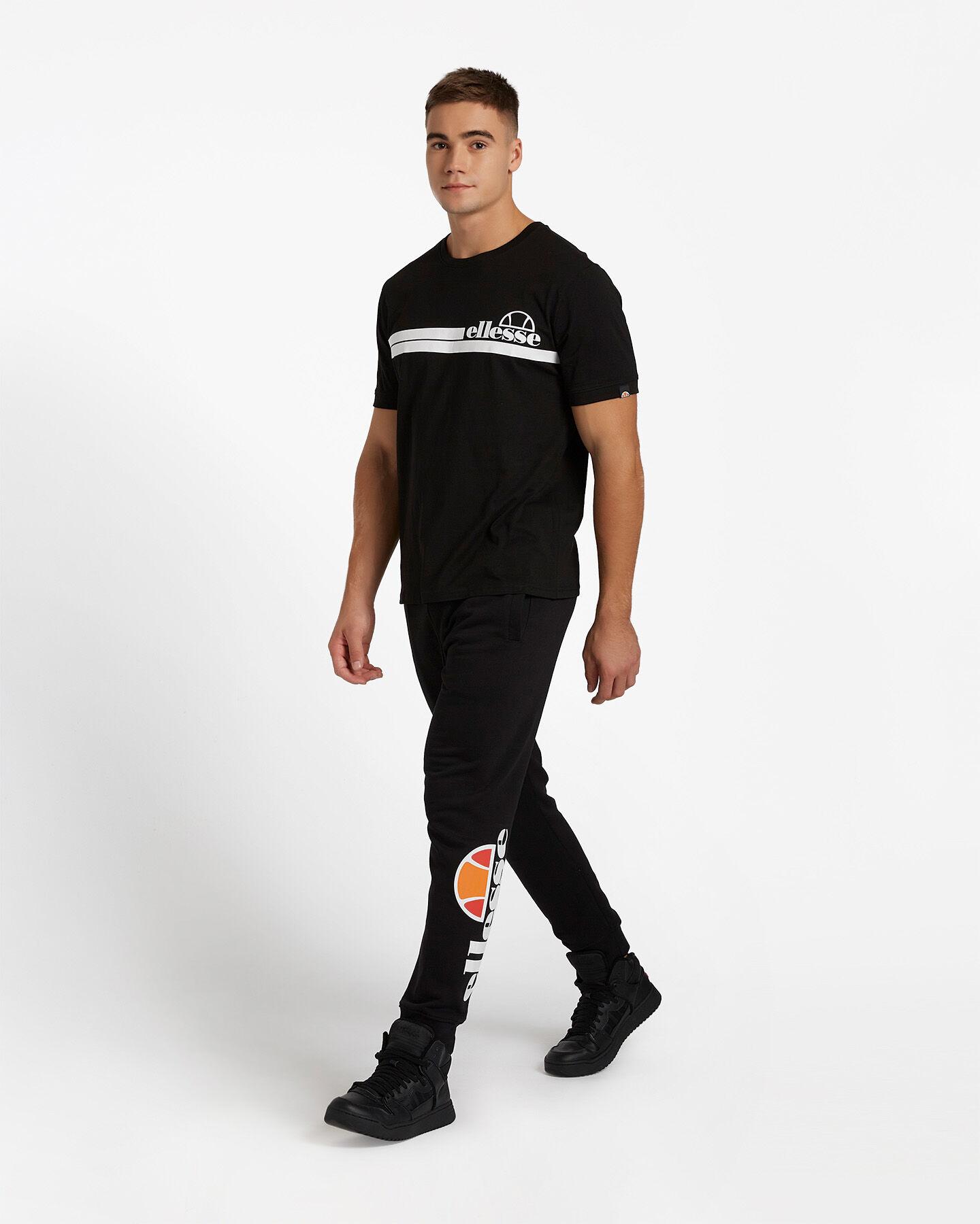 T-Shirt ELLESSE MC STRIPES M S4081221|050|XL scatto 3