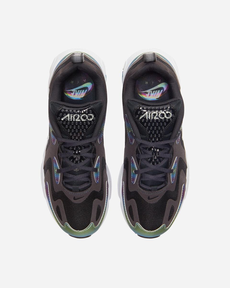 Scarpe sneakers NIKE AIR MAX 200 20 JR GS S5162406 scatto 3