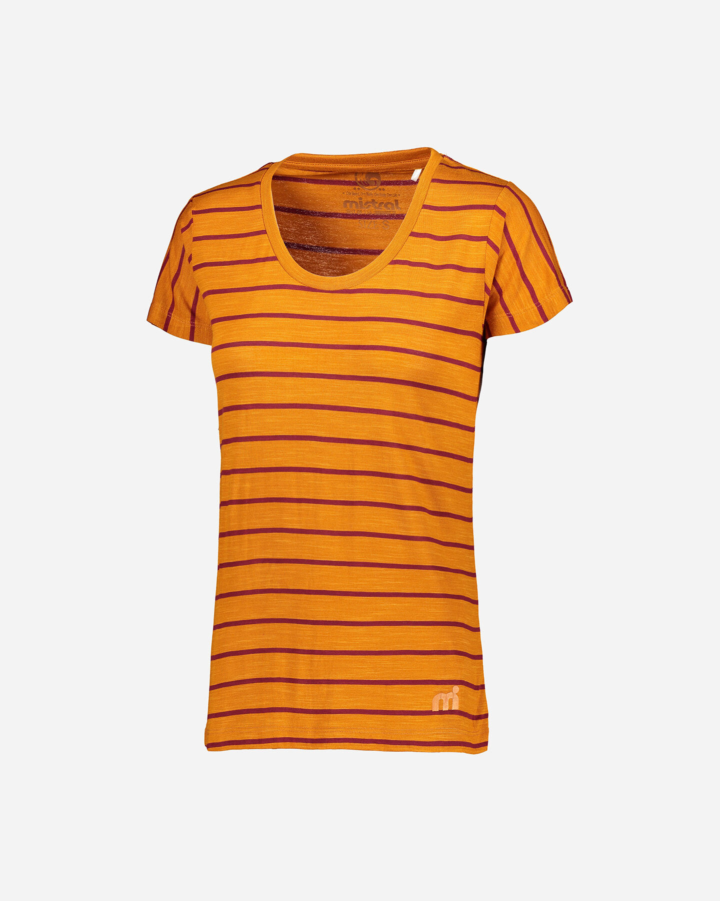 T-Shirt MISTRAL STRIPES W S4087792 scatto 0