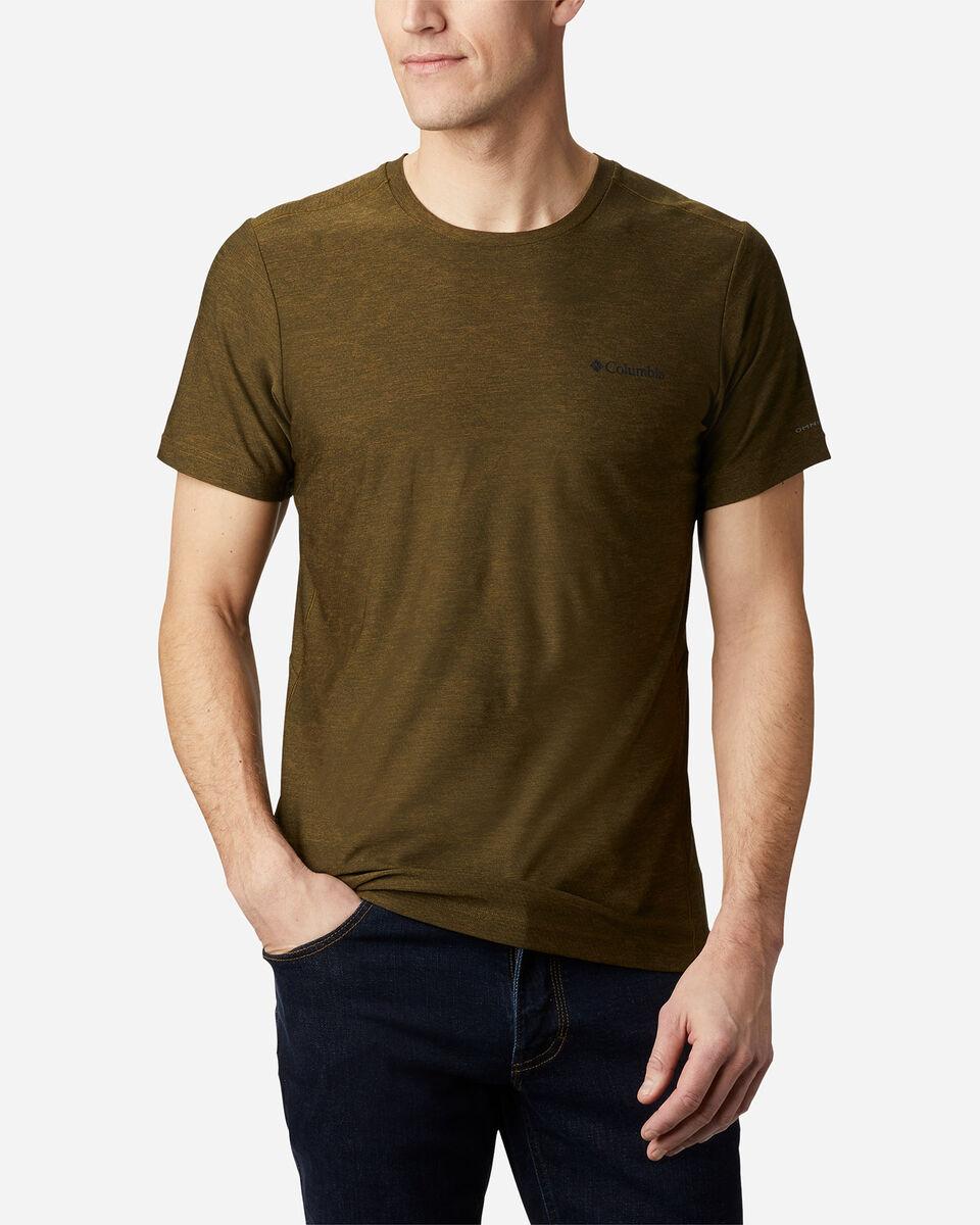 T-Shirt COLUMBIA MAXTRAIL LOGO M S5174874 scatto 1