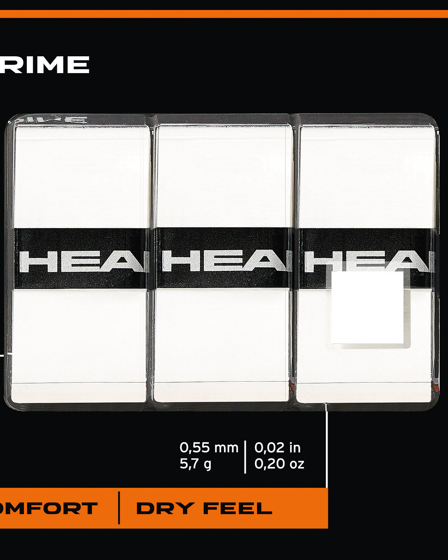 Grip tennis HEAD PRIME S1323217 1 UNI scatto 1