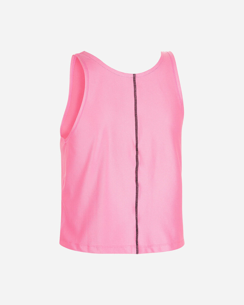 Canotta running NIKE AIR TANK ROSA W S5225296 scatto 1