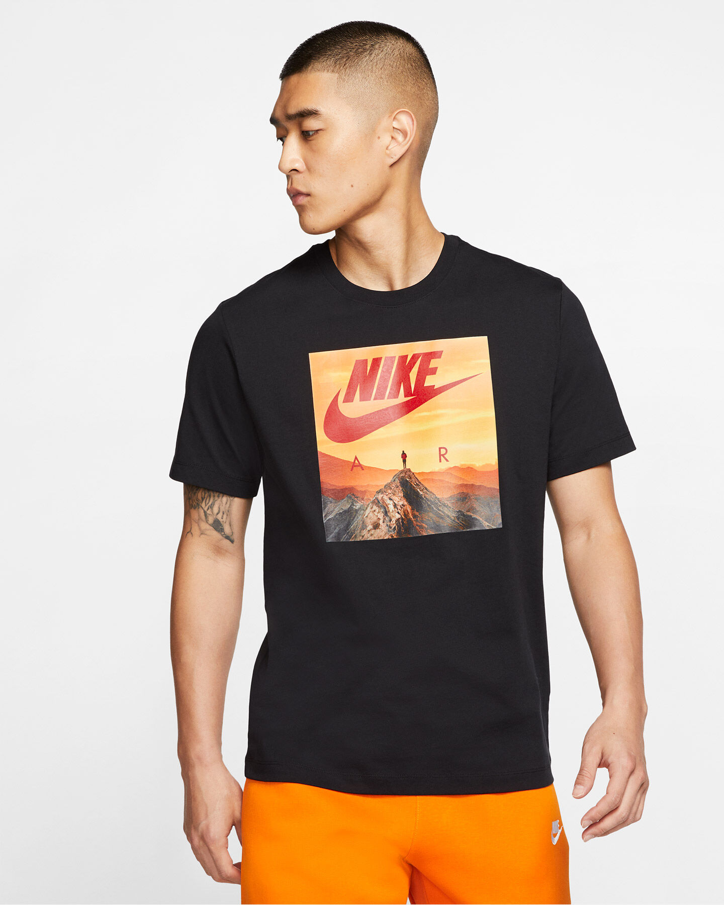 T-Shirt NIKE AIR PHOTO M S5164800 scatto 2