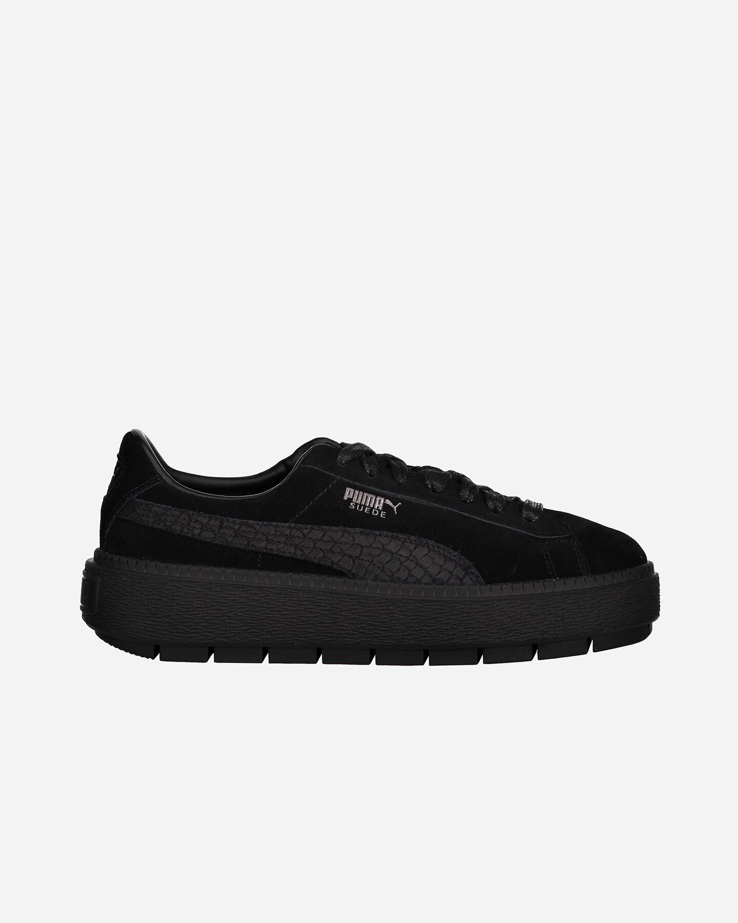 puma basket platform scarpe