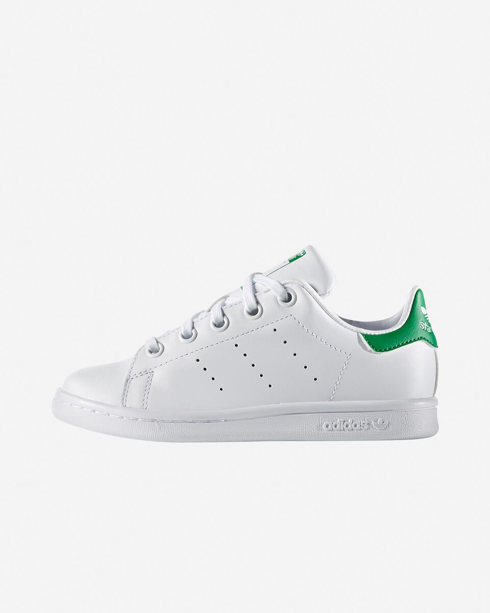Scarpe sportive ADIDAS STAN SMITH JR PS S1298870 scatto 4