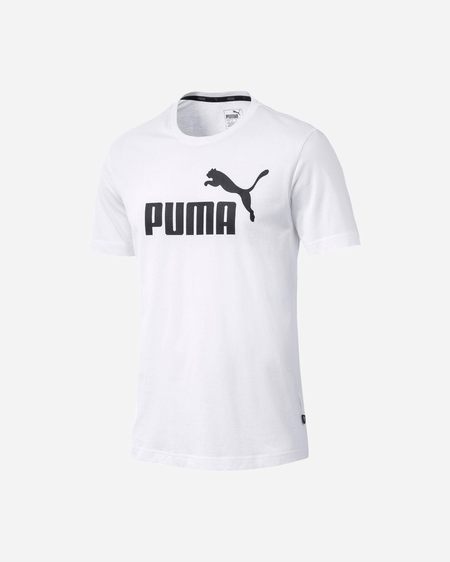T-Shirt PUMA ESSENTIALS LOGO BASIC TEE M S4051516 scatto 5