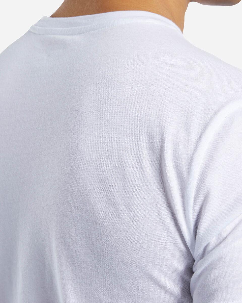 T-Shirt training REEBOK GRAPHIC SERIES LINEAR LOGO M S5146293 scatto 4