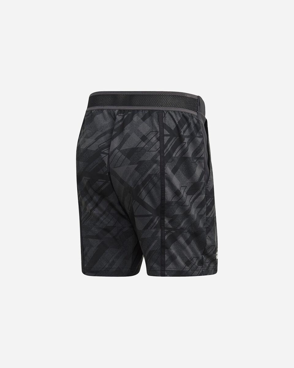 Pantaloncini tennis ADIDAS ERGO PRINTED AEROREADY M S5212238 scatto 1