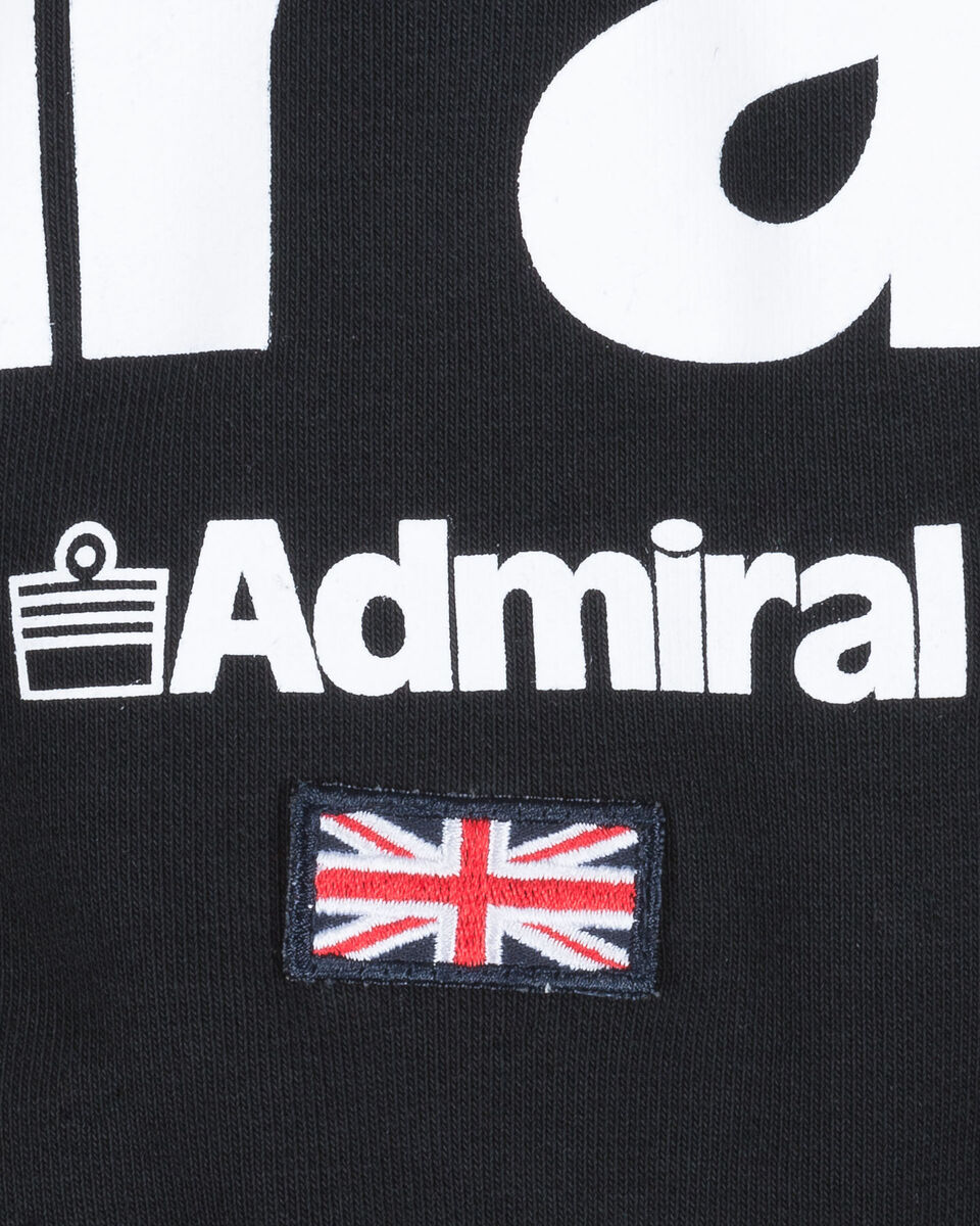 Felpa ADMIRAL BASIC LOGO JR S4075628 scatto 2