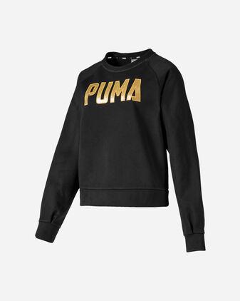 Felpa PUMA ATHLETICS BIG LOGO W