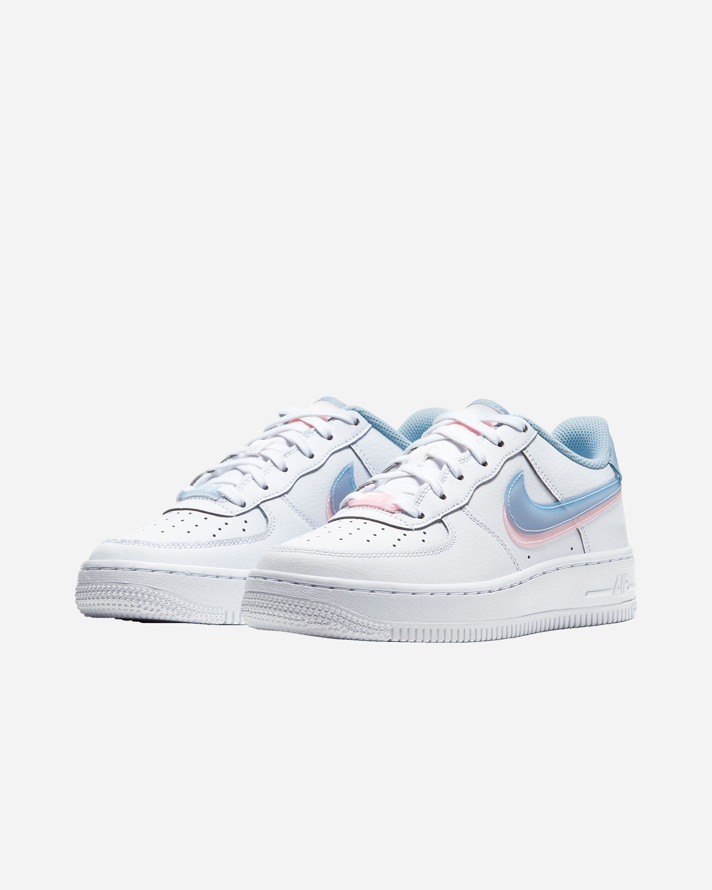 Scarpe sneakers NIKE AIR FORCE 1 LV8 GS JR S5270552 scatto 1