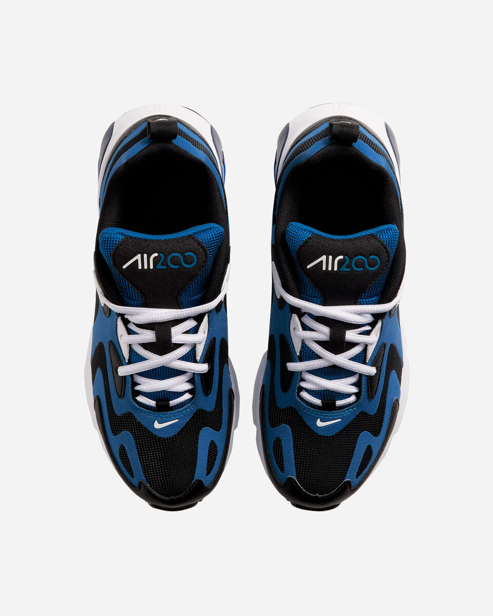 Scarpe sneakers NIKE AIR MAX 200 GS JR S5161546 scatto 3