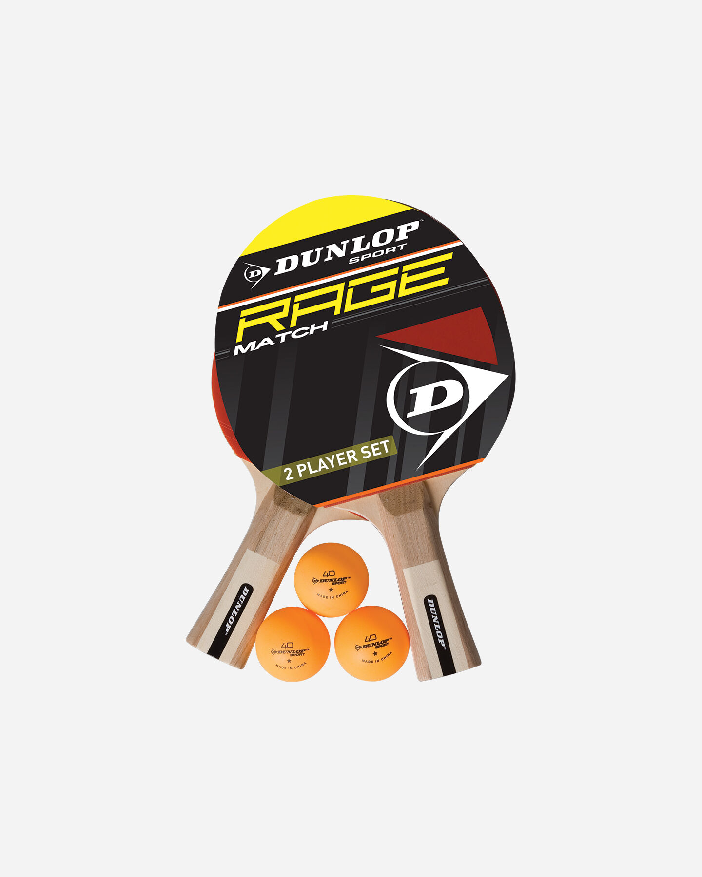 Accessorio ping pong DUNLOP SET RAGE 2 PLAYER S2006320|019|UNI scatto 0