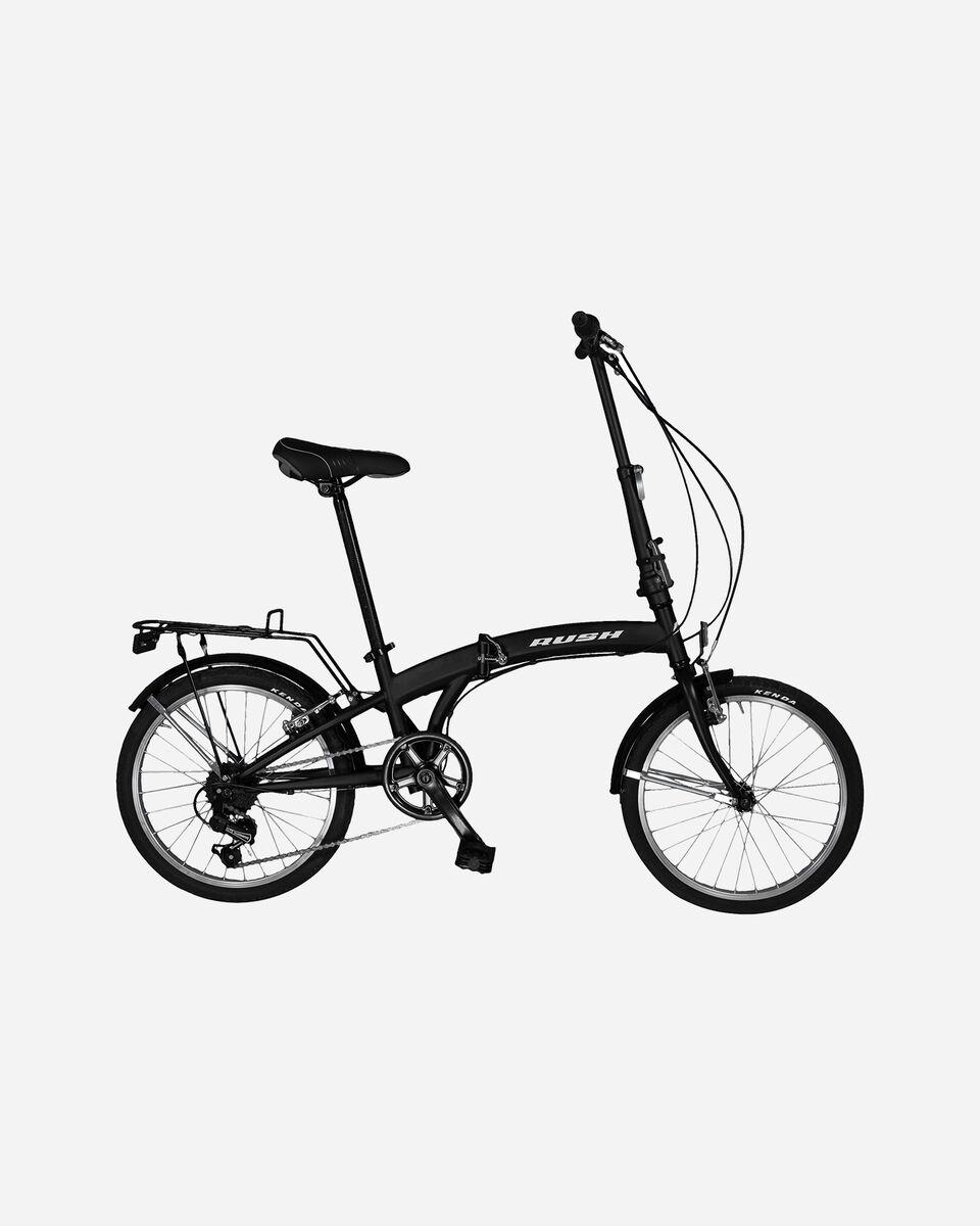 City bike RUSH BICICLETTA PIEGHEVOLE S1324406 1 UNI scatto 0