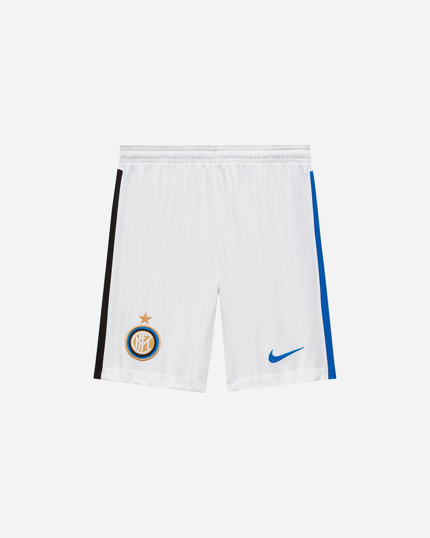 Pantaloncini calcio NIKE INTER HOME 20-21 JR S5195474 scatto 0