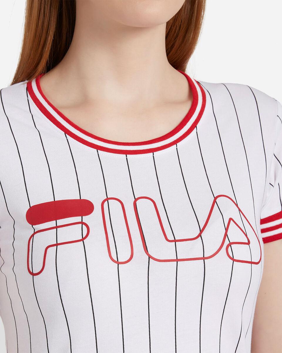 T-Shirt FILA STRIPES W S4074257 scatto 4