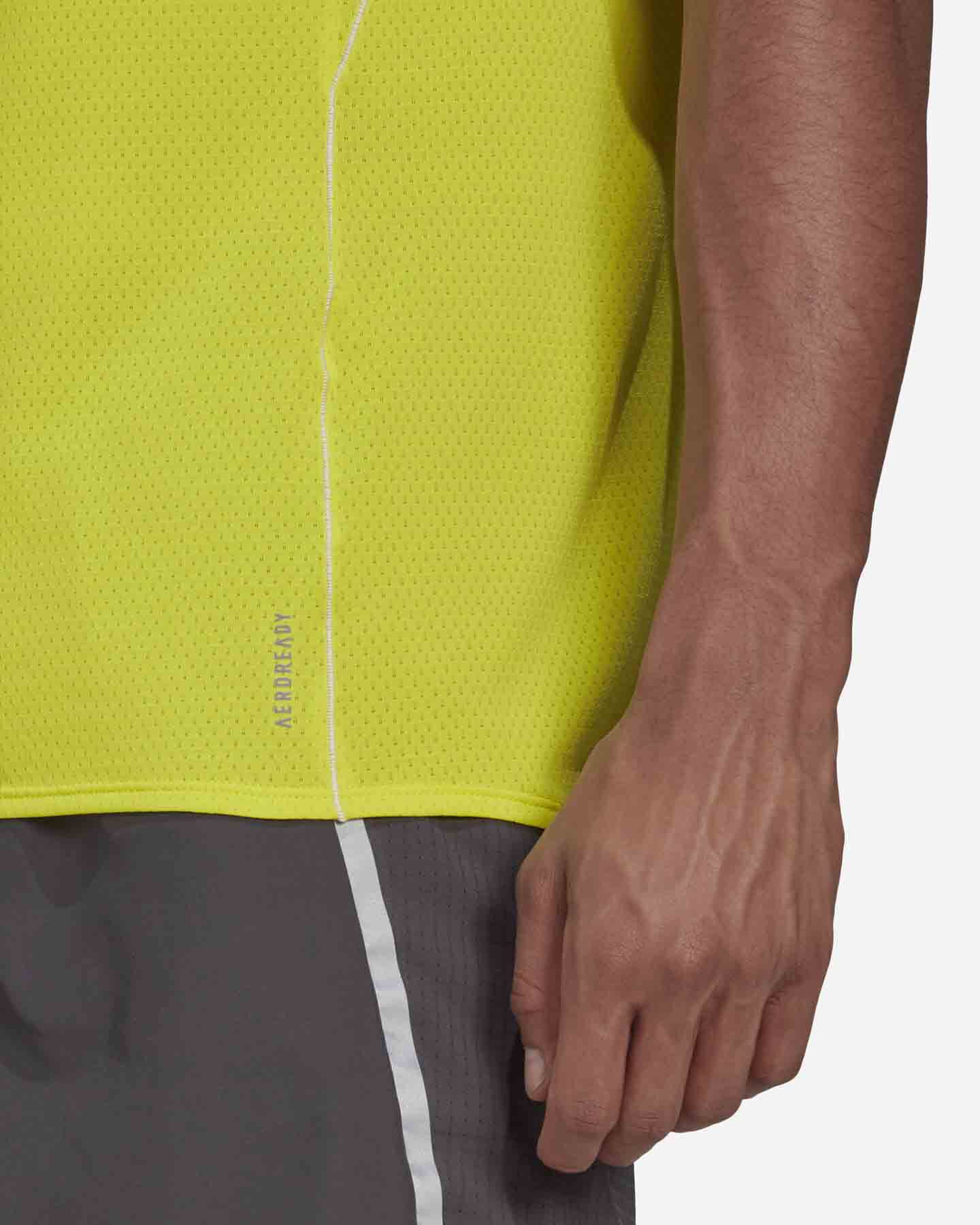 T-Shirt running ADIDAS RUNNER M S5273910 scatto 5