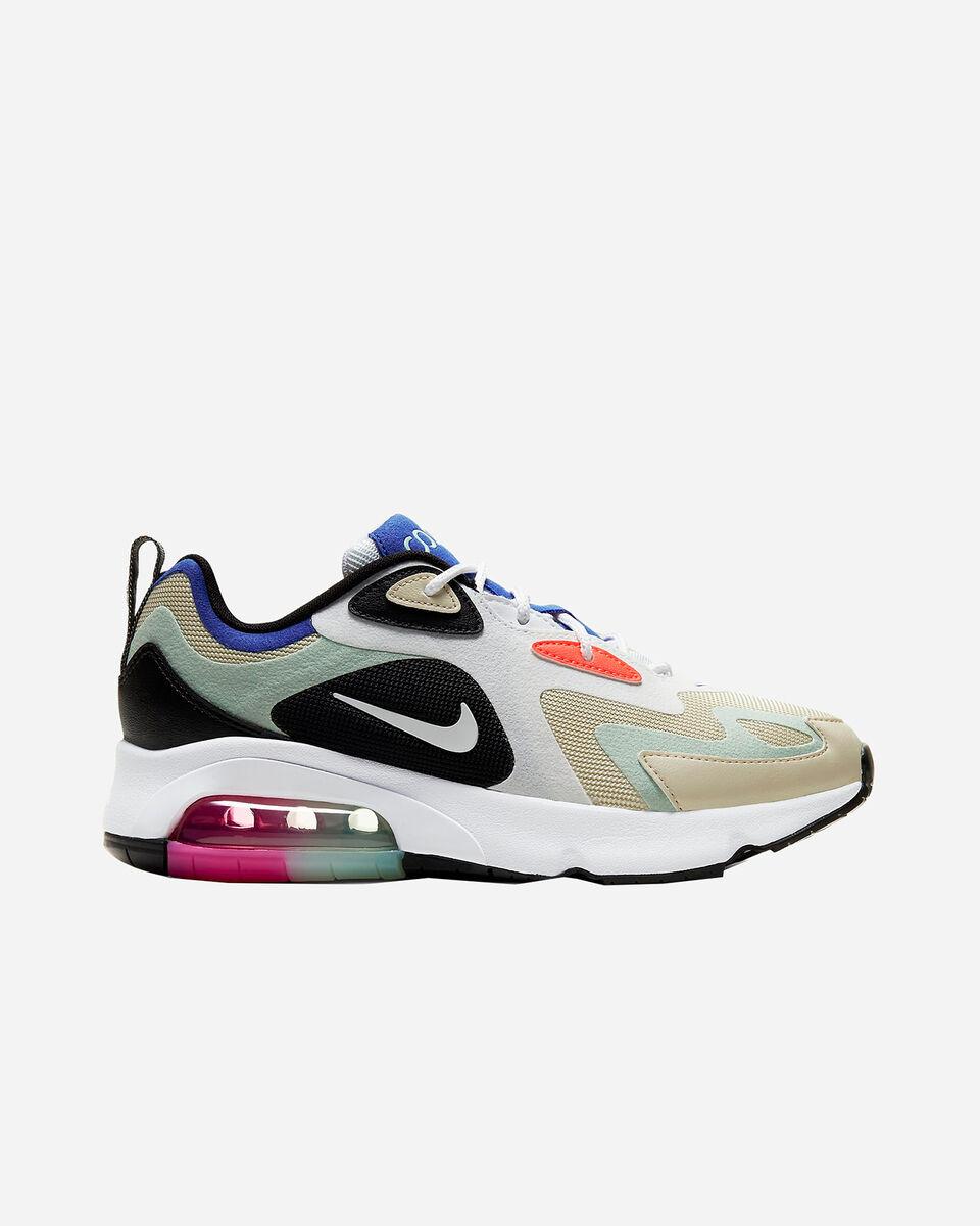 Scarpe sneakers NIKE AIR MAX 200 W S5162239 scatto 0