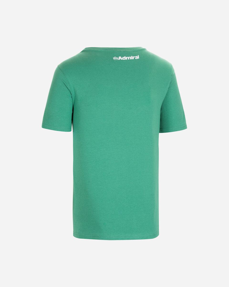 T-Shirt ADMIRAL MC VARSITY M S4080638 scatto 1