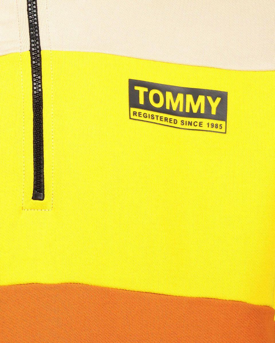 Felpa TOMMY HILFIGER COLOR BLOCK M S4082070 scatto 2