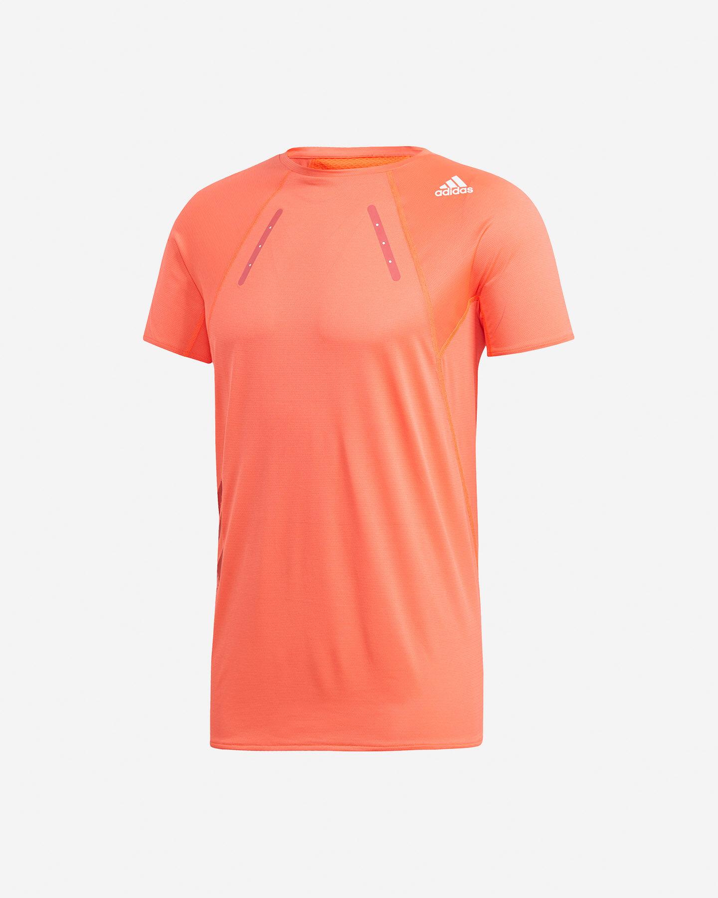 T-Shirt running ADIDAS HEAT.RDY M S5154890 scatto 0