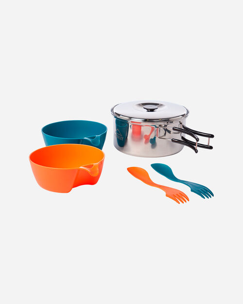Accessorio camping MCKINLEY COOKING SET STAINLESS STEEL 2P