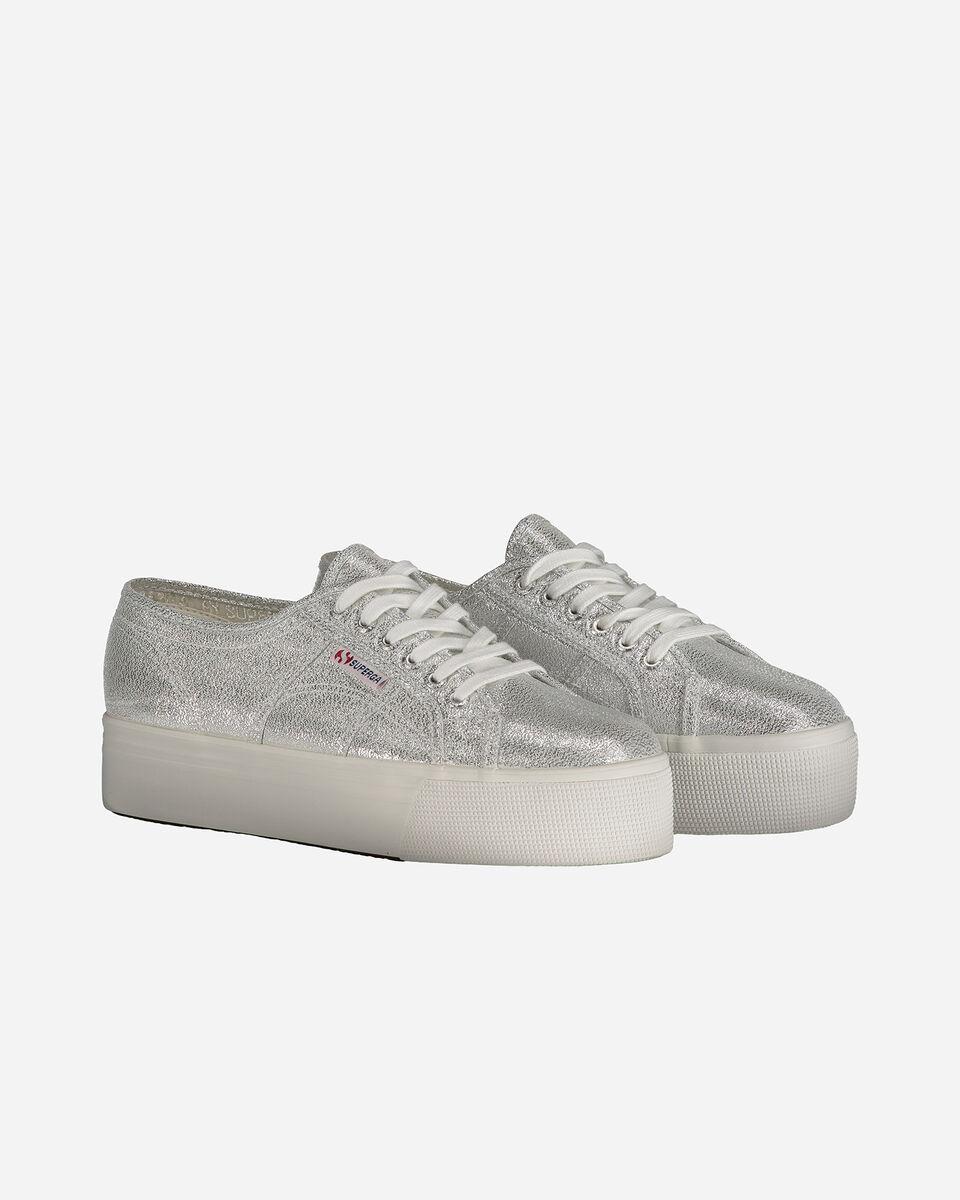 Scarpe sneakers SUPERGA 2790 LAME W S4010575 scatto 1