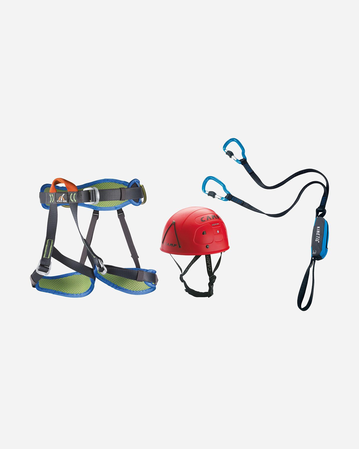 Accessorio arrampicata CAMP KIT CAMP FERRATA KINETIC 2746 ROCKSTAR-TOPAZ PLUS S4027971|1|UNI scatto 0