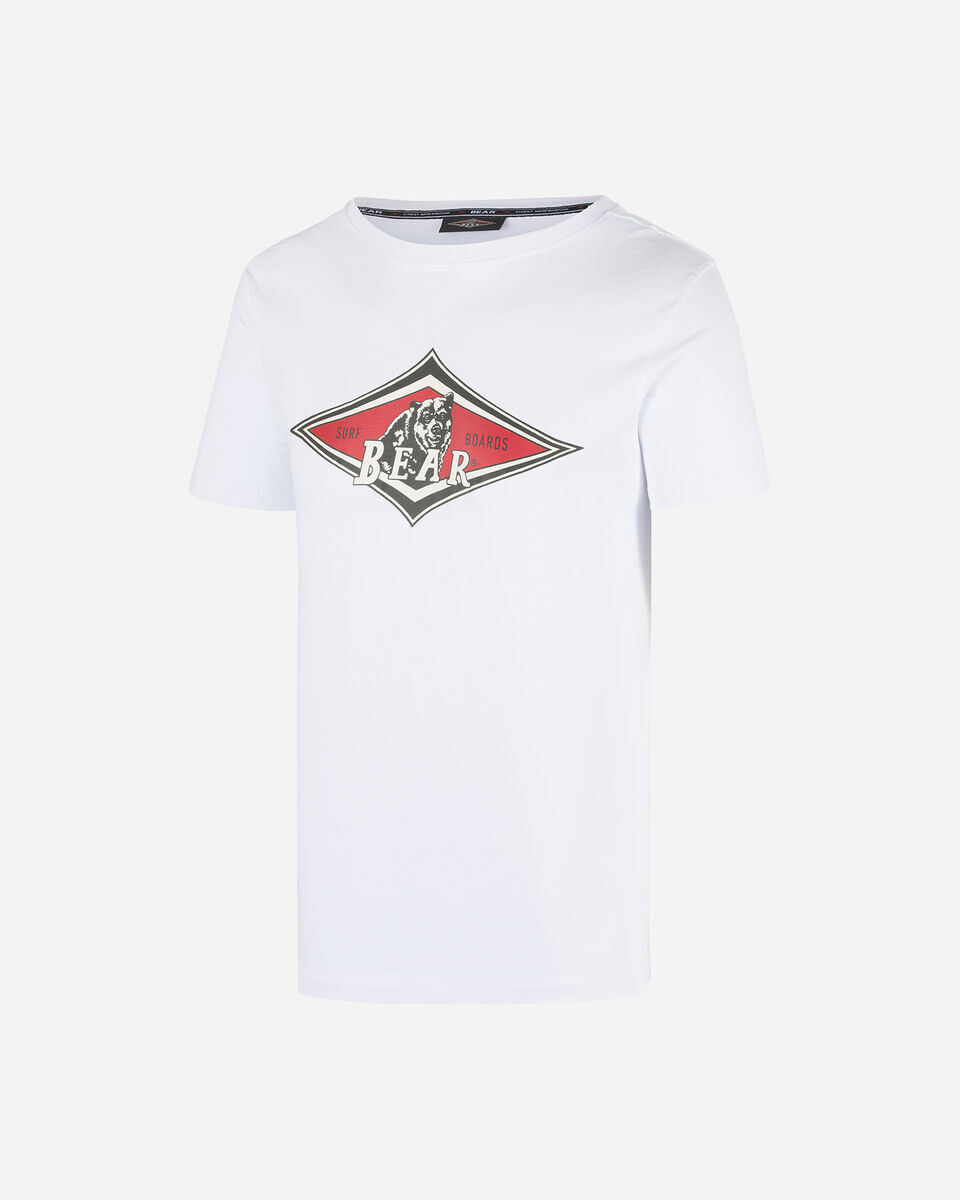 T-Shirt BEAR CLASSIC LOGO M S5182754 scatto 0