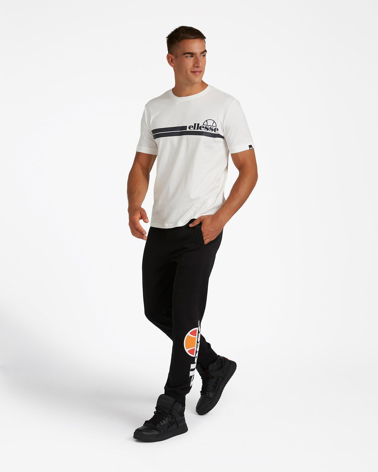 T-Shirt ELLESSE MC STRIPES M S4081222 scatto 3