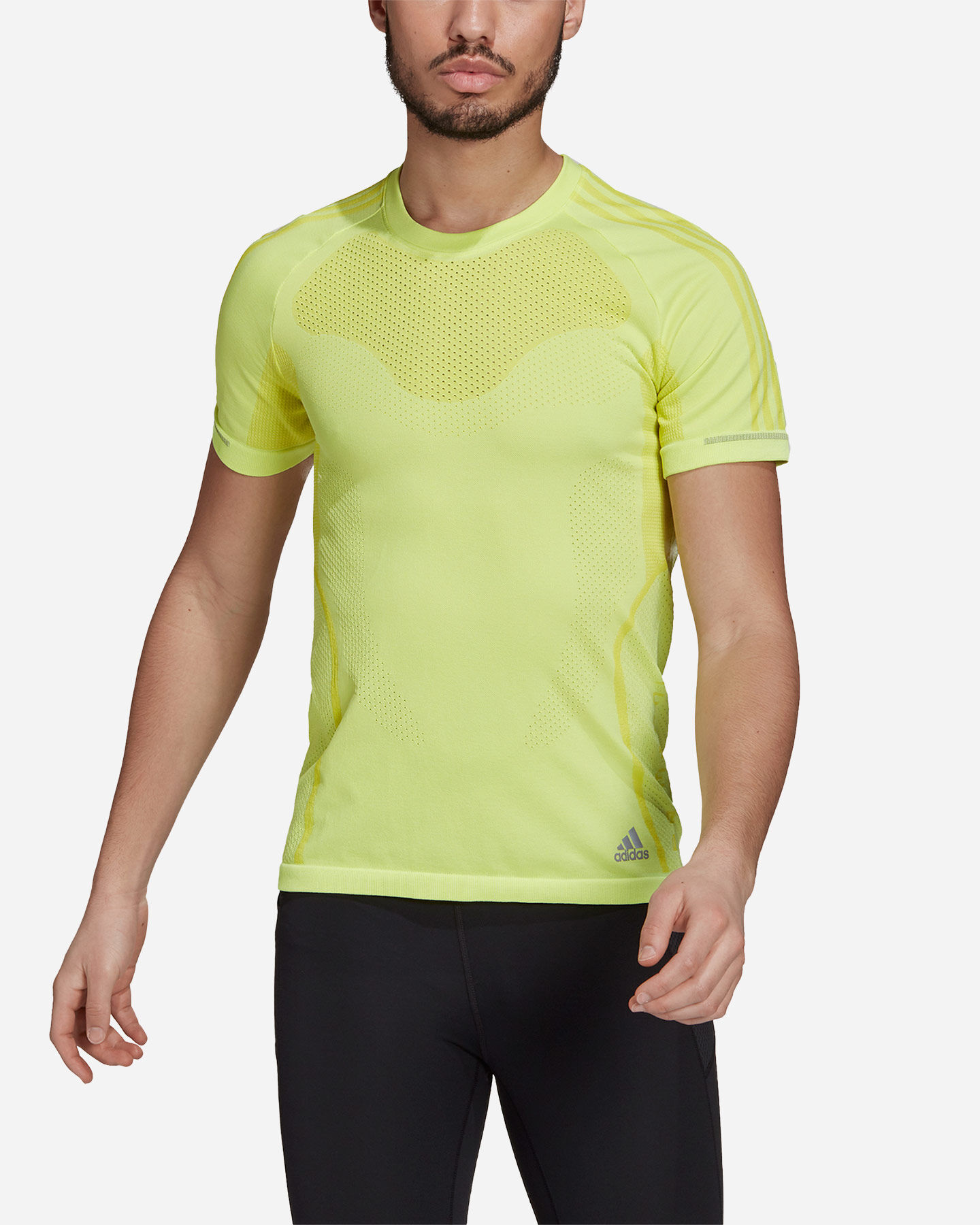 T-Shirt running ADIDAS PRIMEKNIT M S5275149 scatto 1