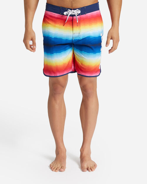 Boardshort mare MISTRAL RAINBOW STRIPES M