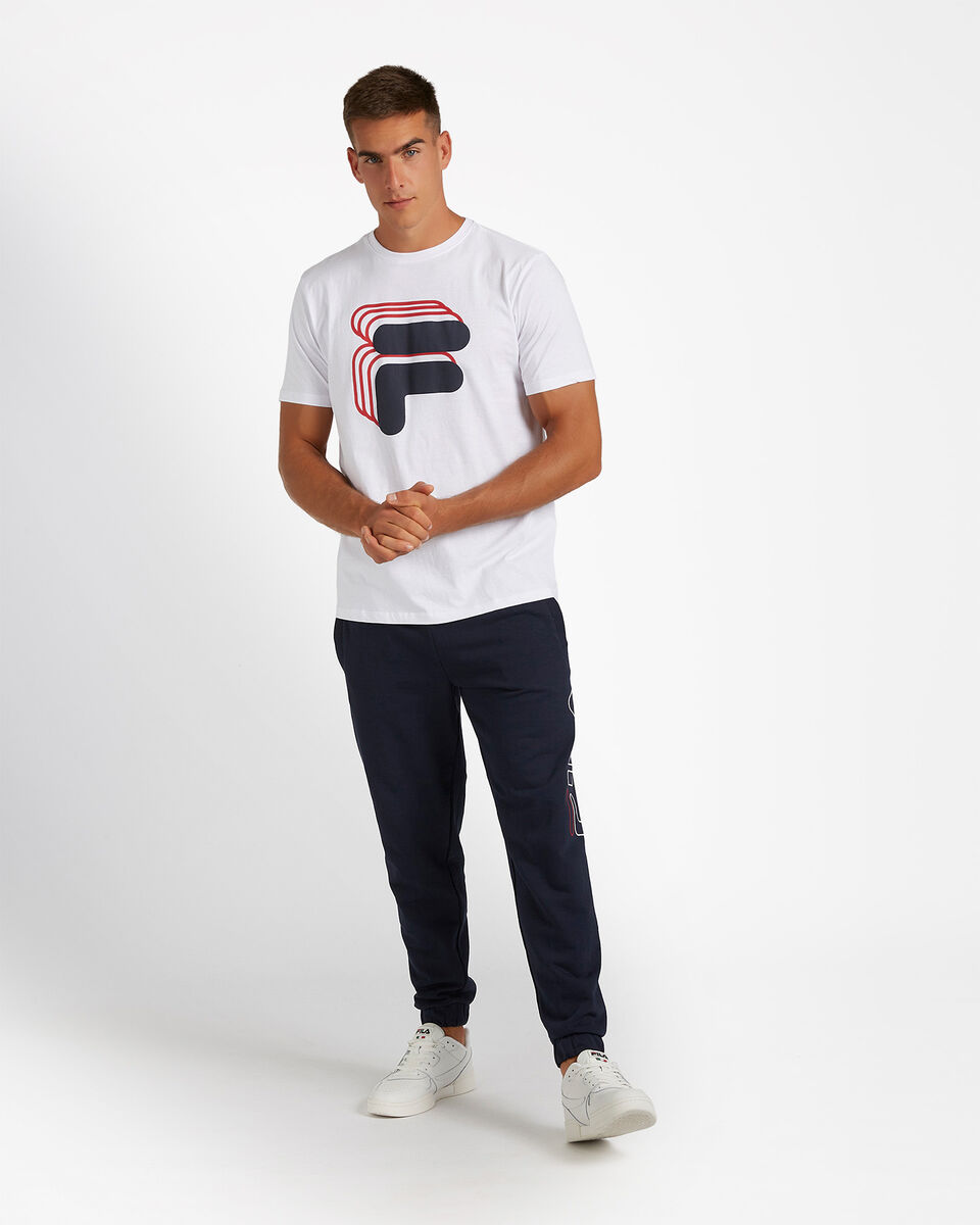 T-Shirt FILA LOGO VINTAGE M S4081034 scatto 1