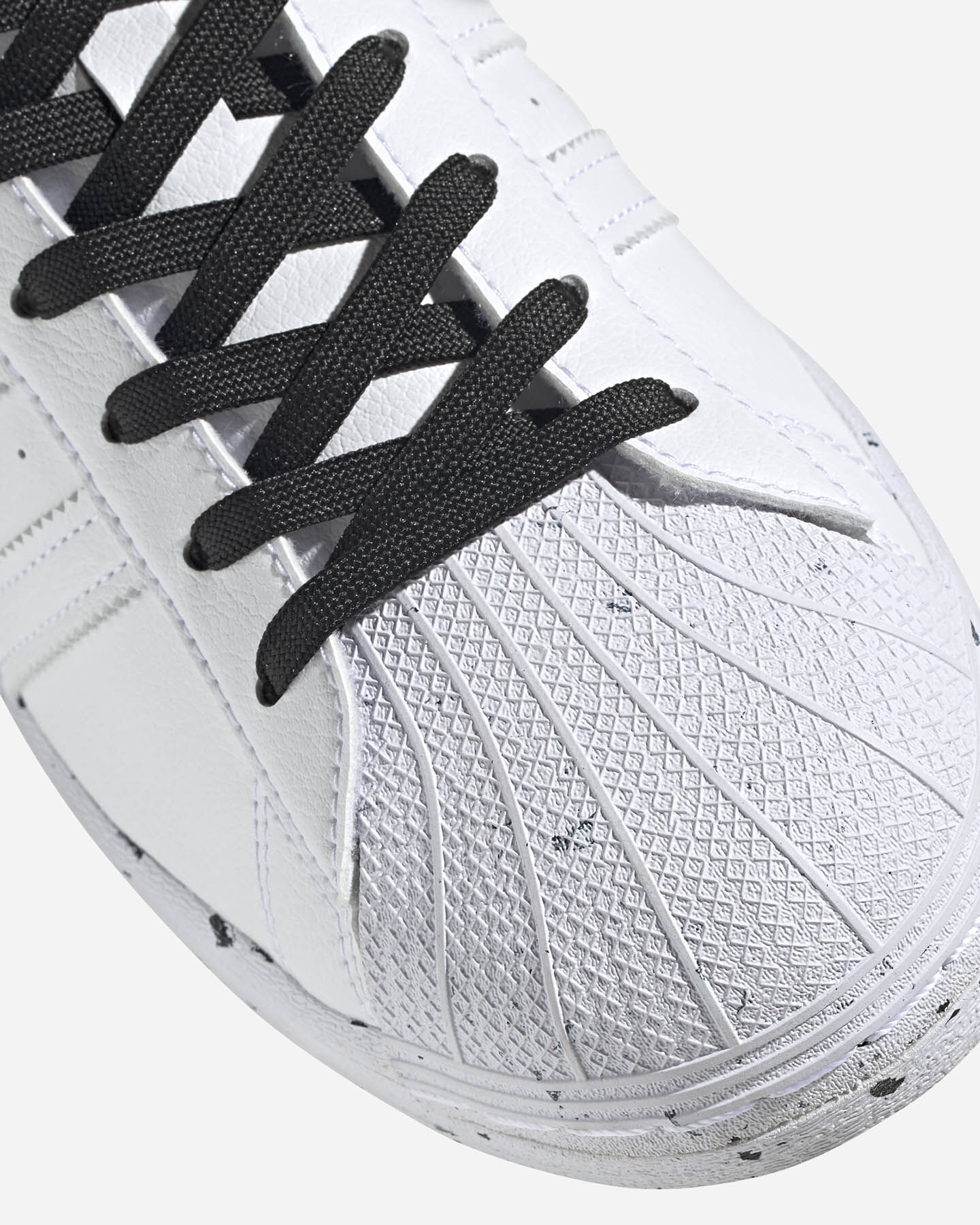 Scarpe sneakers ADIDAS SUPERSTAR VEGAN M S5209270 scatto 5