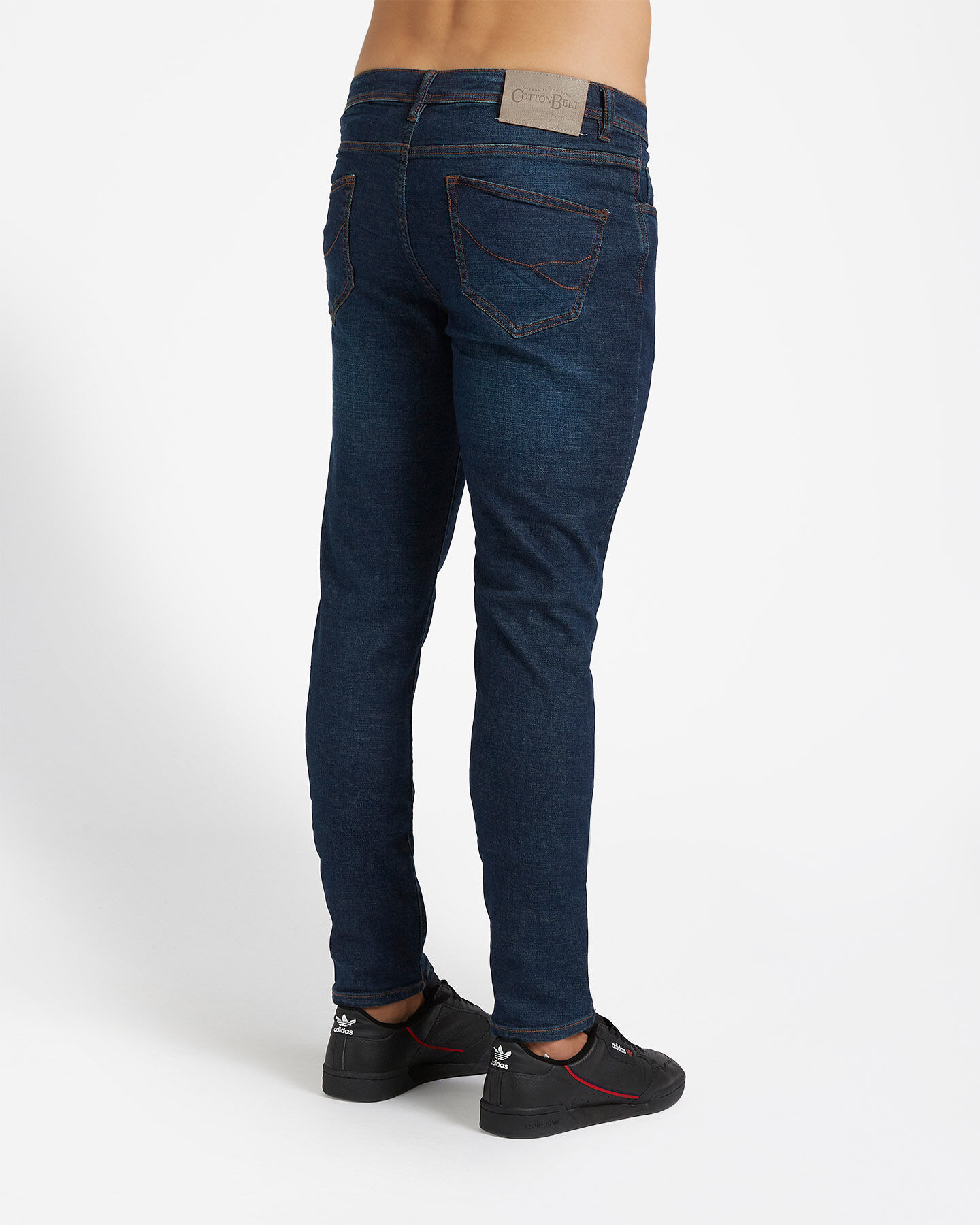 Jeans COTTON BELT 5TS SLIM M S4076650 scatto 1