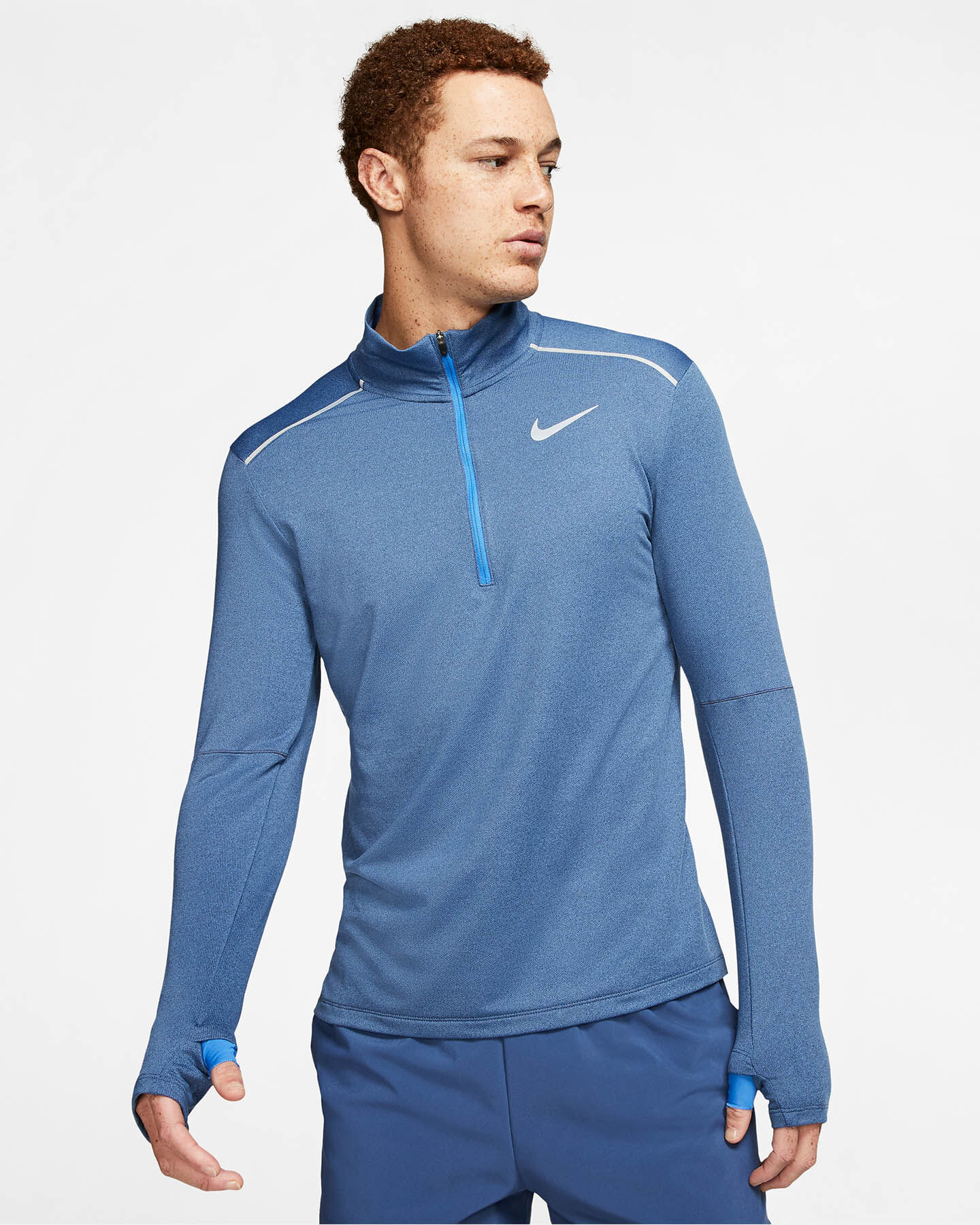T-Shirt running NIKE ELEMENT 3.0 M S5163140 scatto 2