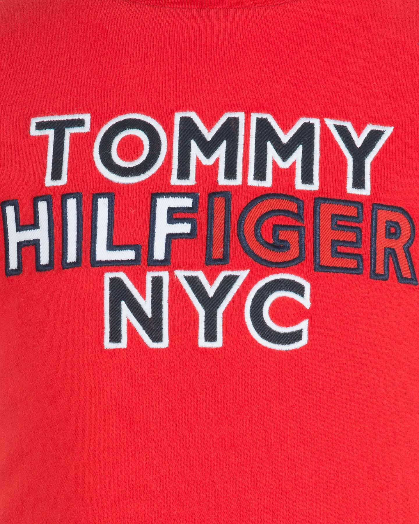T-Shirt TOMMY HILFIGER LOGO LETTERING JR S4083619 scatto 2