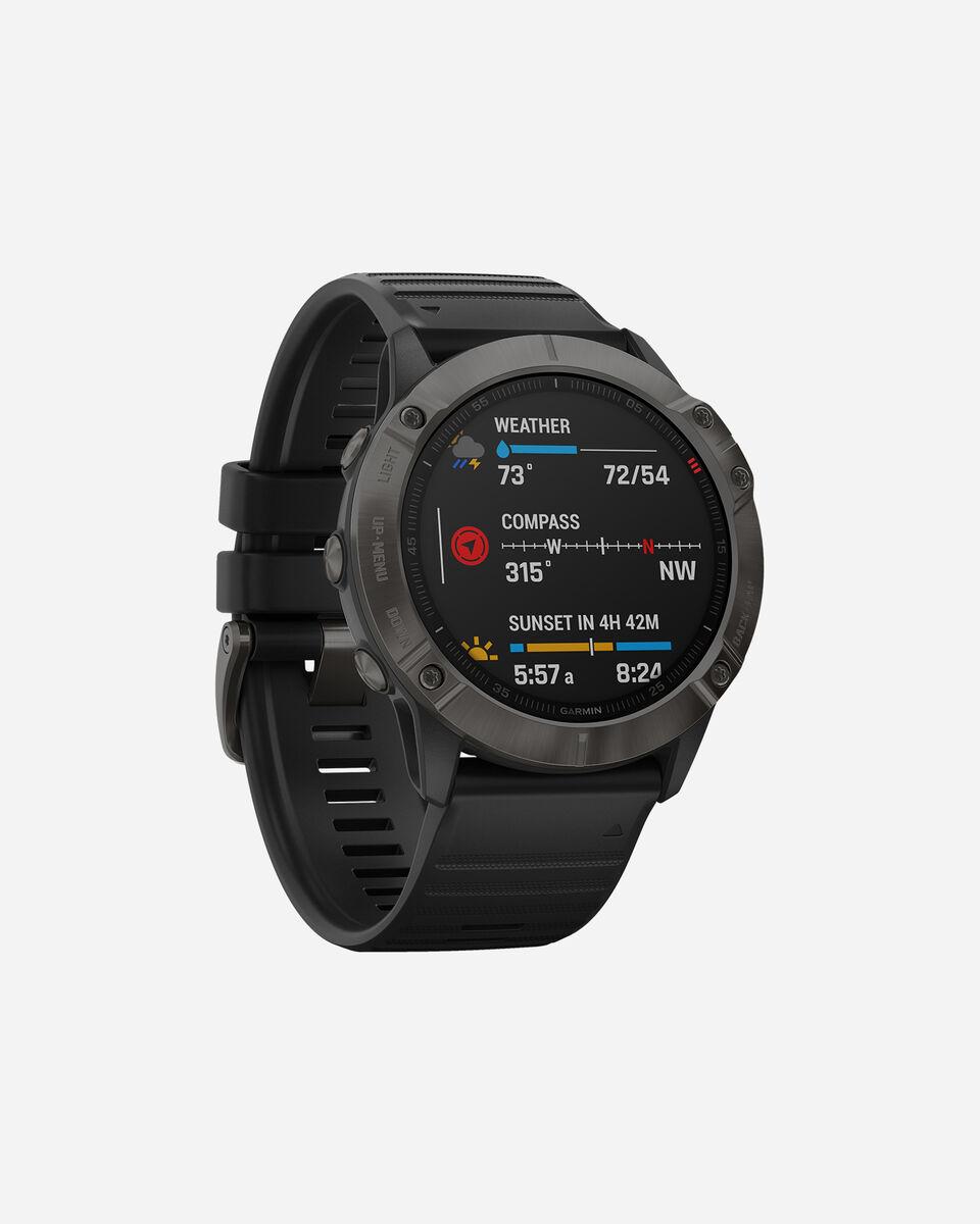 Orologio multifunzione GARMIN FENIX 6X SAPPHIRE S4076558 11 UNI scatto 3