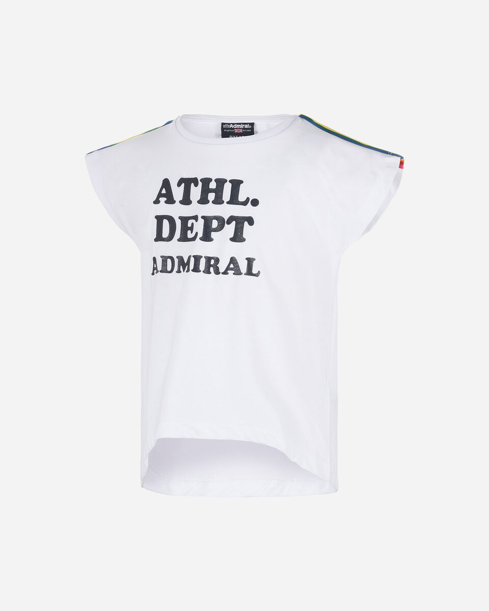 T-Shirt ADMIRAL BASIC JR S4075525 scatto 0