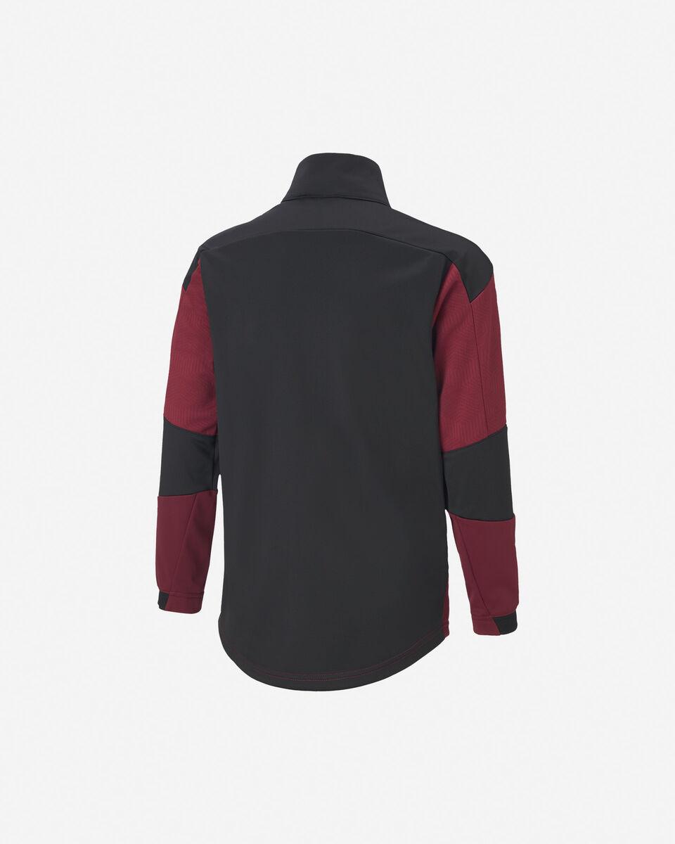 Abbigliamento calcio PUMA MILAN TRAIN ZIP JR S5235851 scatto 1