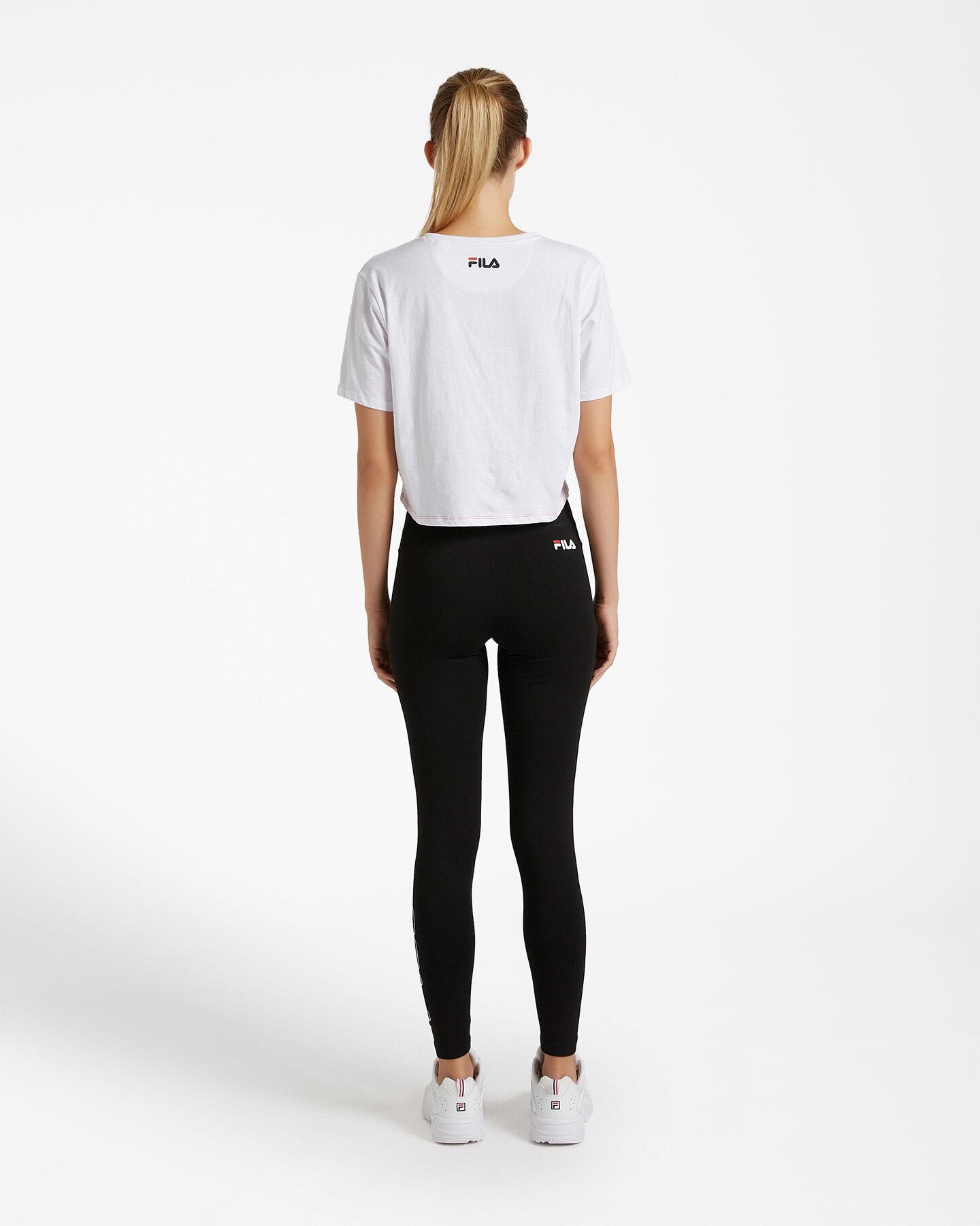 T-Shirt FILA CROP COLOR BLOCK W S4080528 scatto 2