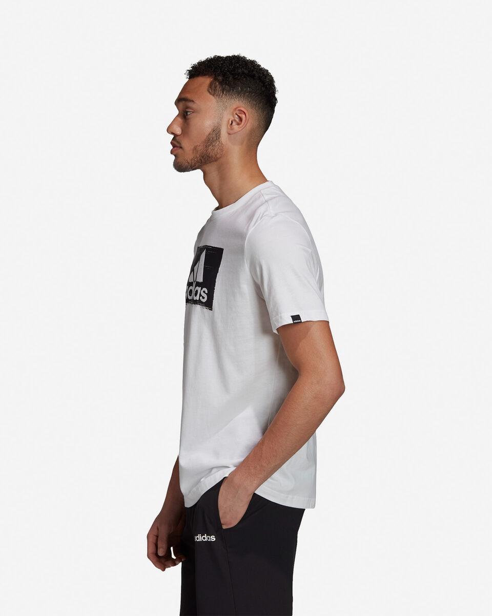T-Shirt ADIDAS BRUSHSTROKE M S5211283 scatto 3