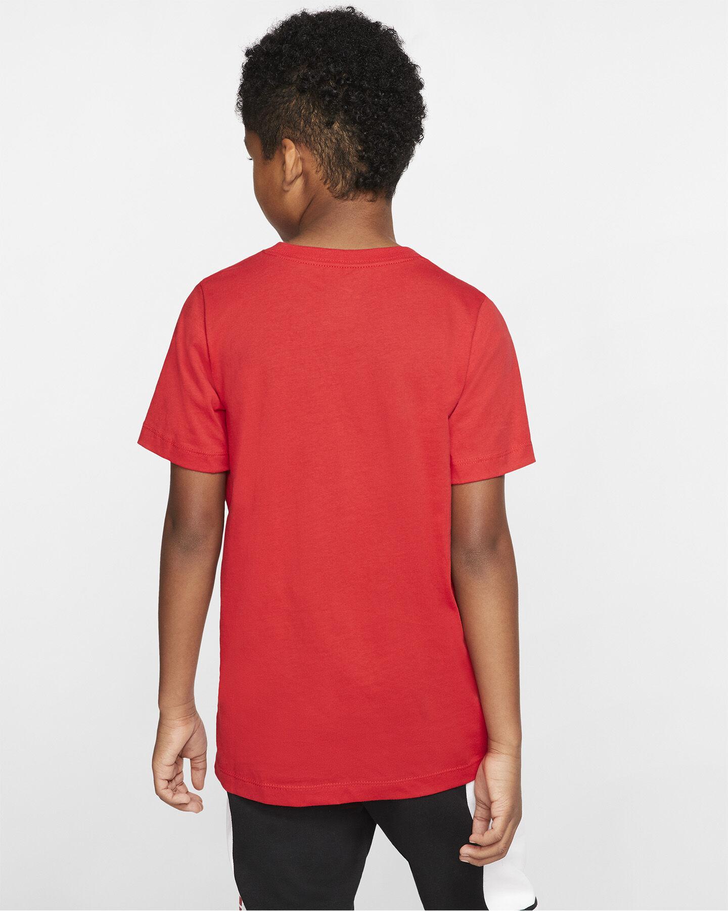 T-Shirt NIKE AIR LOG JR S5165230 scatto 3