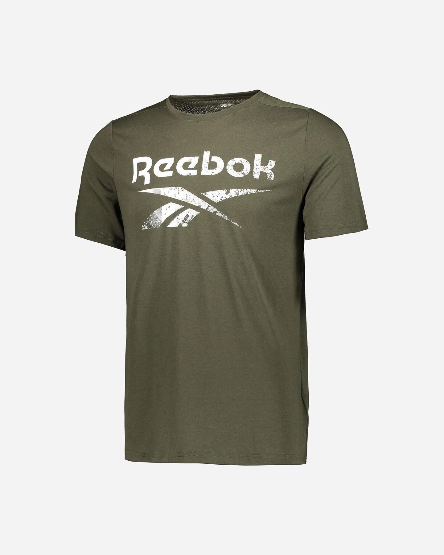 T-Shirt training REEBOK ACTRON LOGO M S5219457 scatto 0