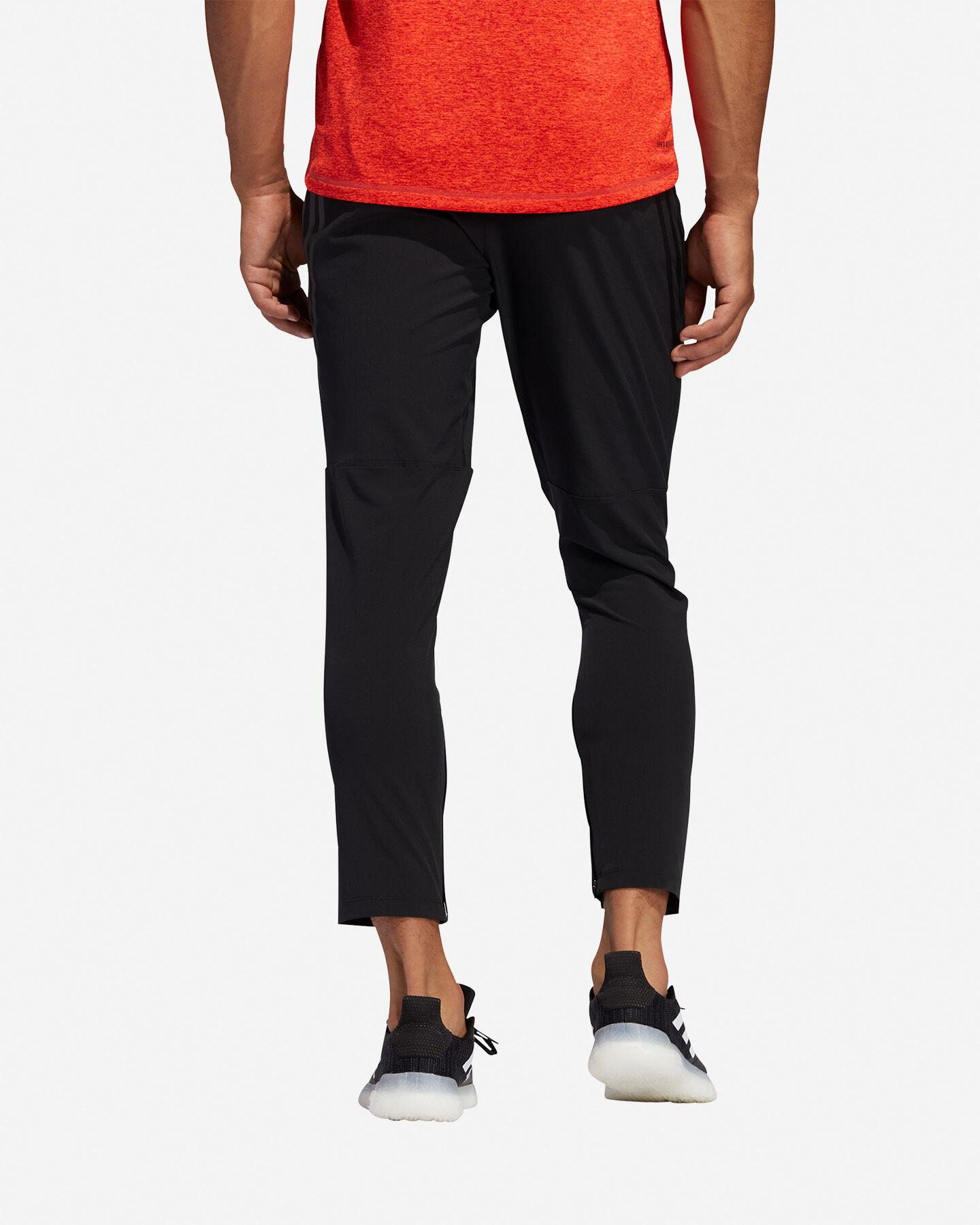 Pantalone training ADIDAS AEROREADY 3-STRIPES M S5154644 scatto 4