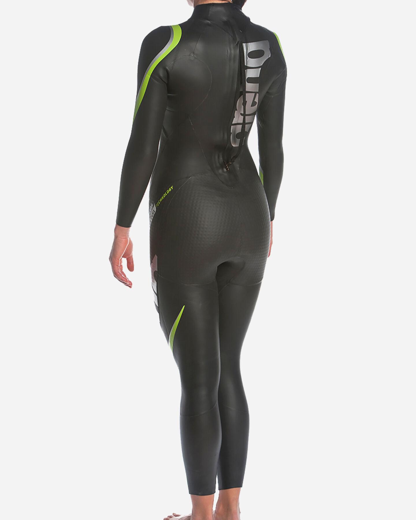 Costume piscina ARENA TRIWETSUIT CARBON W S5042136 scatto 5