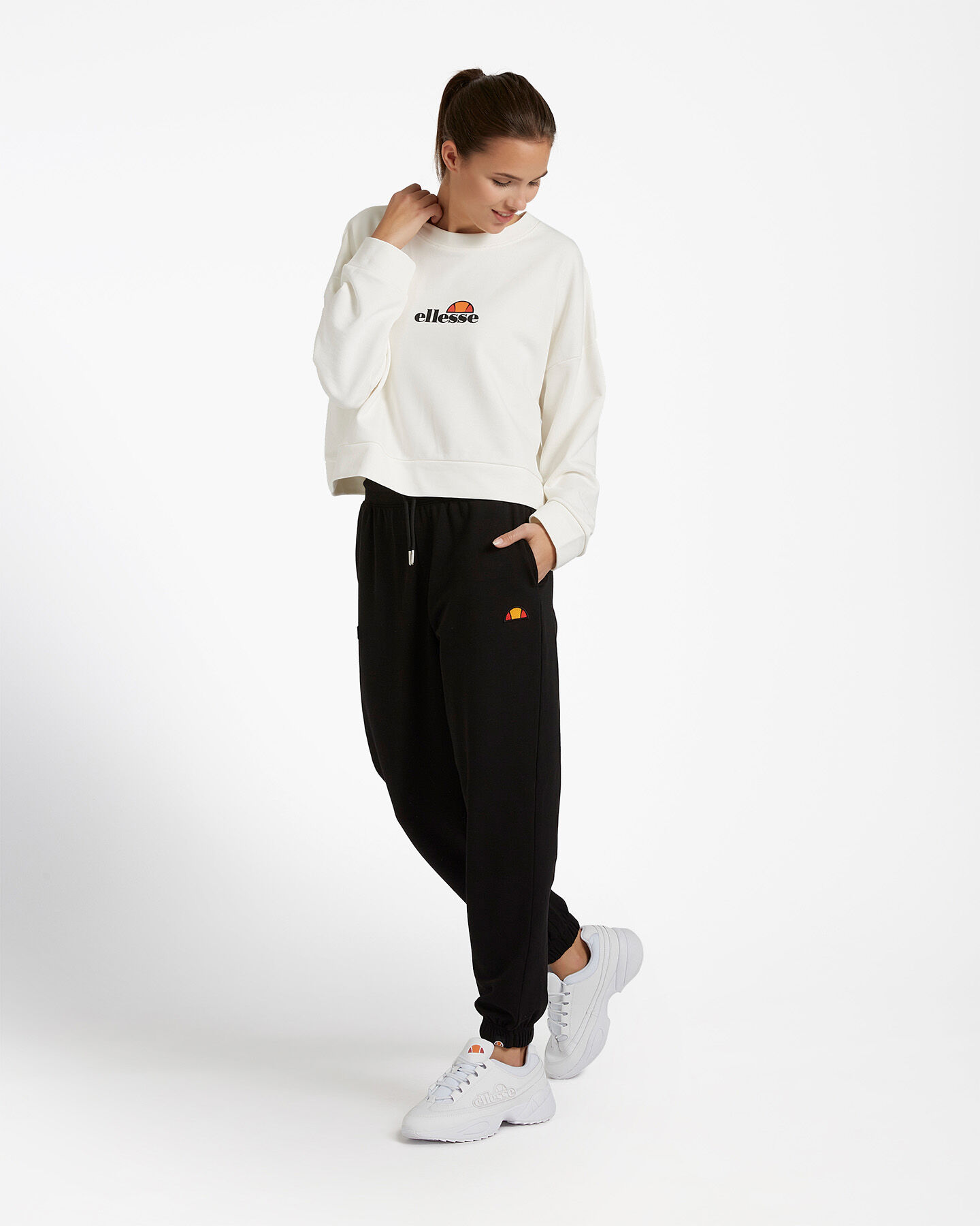 Felpa ELLESSE CROP W S4081240 scatto 1