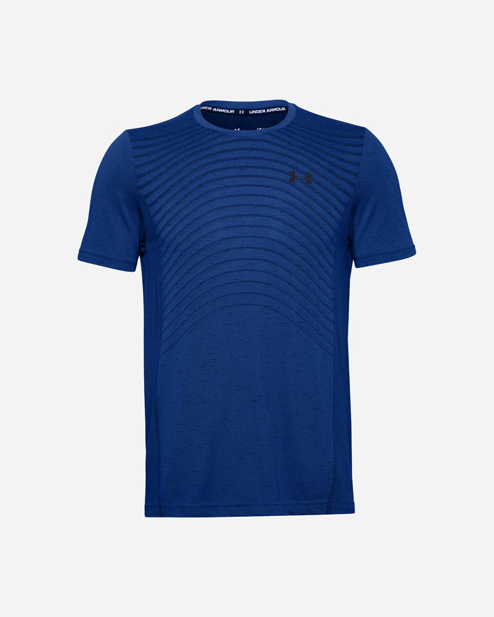 T-Shirt training UNDER ARMOUR SEAMLESS WAVE M S5228740 scatto 0