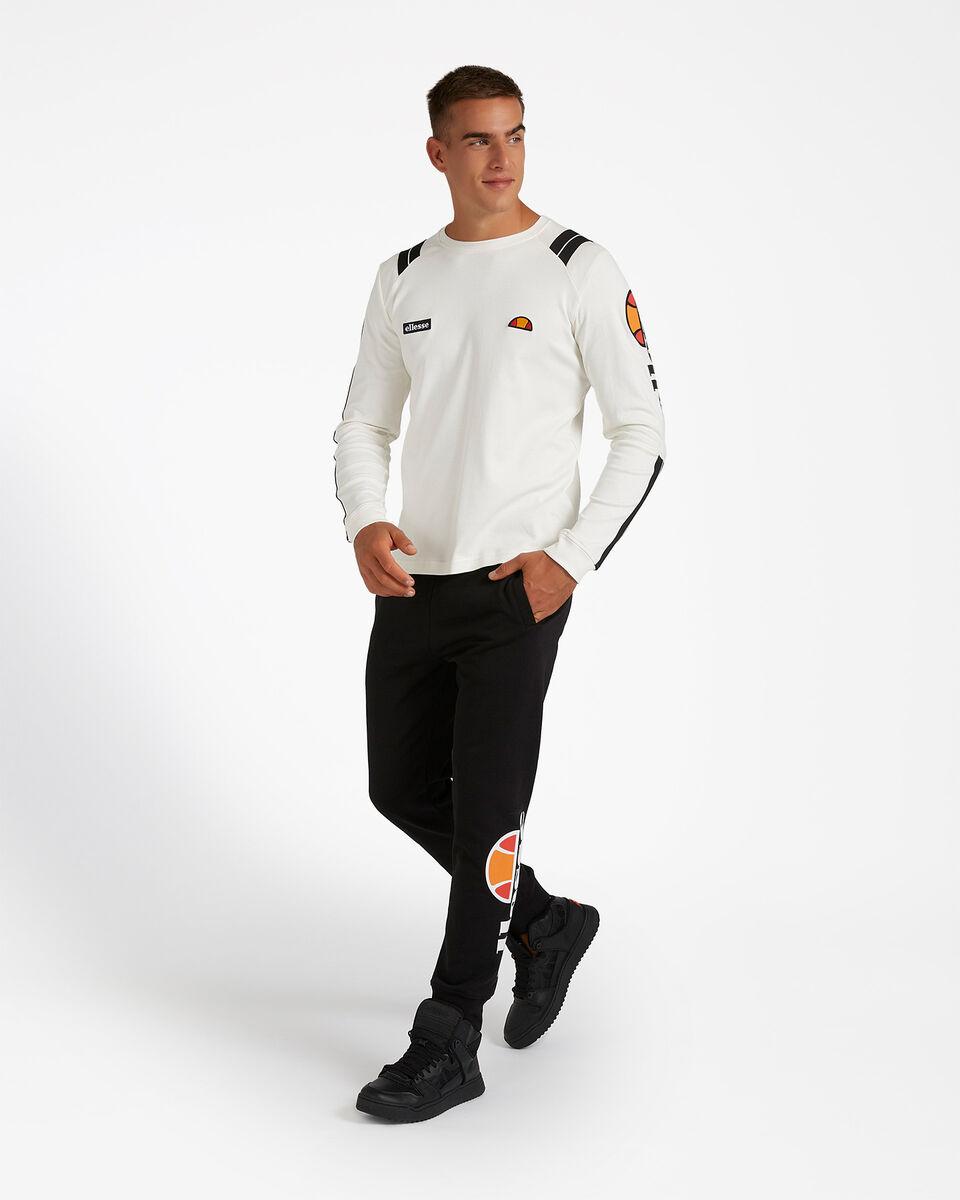 T-Shirt ELLESSE STRIPES M S4081219 scatto 3